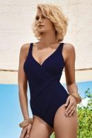 Costum de baie de lux Athena Blue efect de subtiere